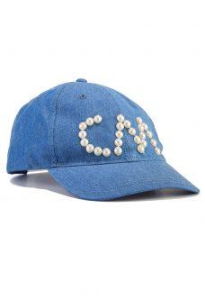 Дамска шапка с лого Cheap Monday
