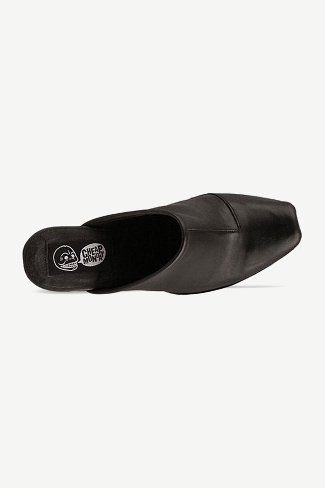Cheap-Monday-shoes-Angle-Clog-(Black)