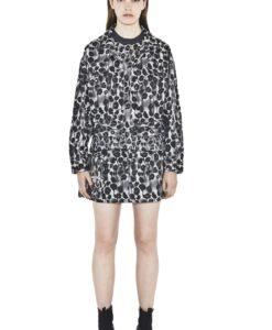 mix jacket leopard