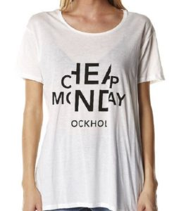 Тениска с принт Cheap Monday