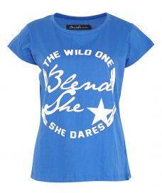 Тениска с лого Blend She