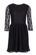 Черна дантелена рокля Blend She 1