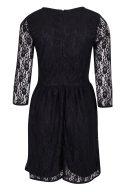 Черна дантелена рокля Blend She 2