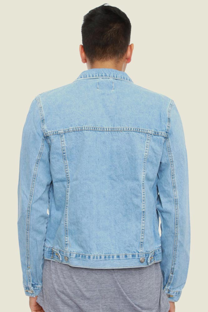 Синьо яке Denim Jacket Cheap Monday