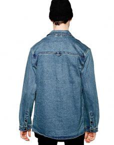 Синьо яке Denim Jacket Cheap Monday