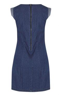 Спортна синя рокля Blend She