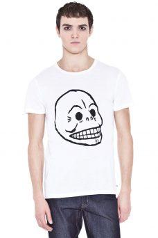 Тениска с щампа череп Cheap Monday