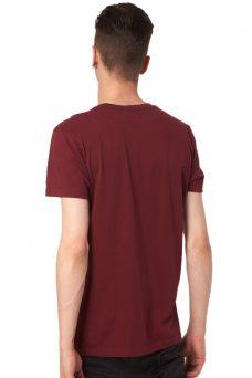 Мъжка тениска в бордо Cheap Monday