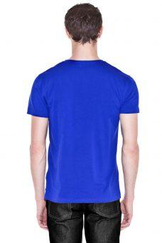 Синя тениска щампа череп със сълза Cheap Monday