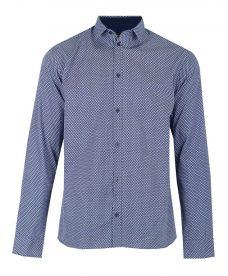 Синя риза Casual Friday