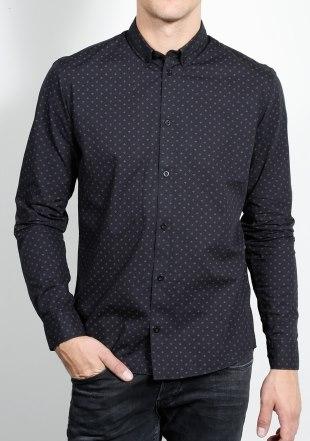 Черна риза Casual Friday