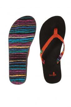 Цветни чехли Sanuk