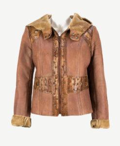 Кафяво палто
