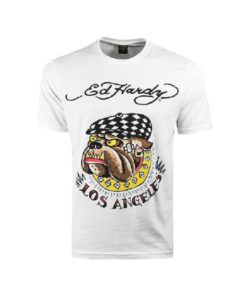 Тениска с щампа Ed Hardy