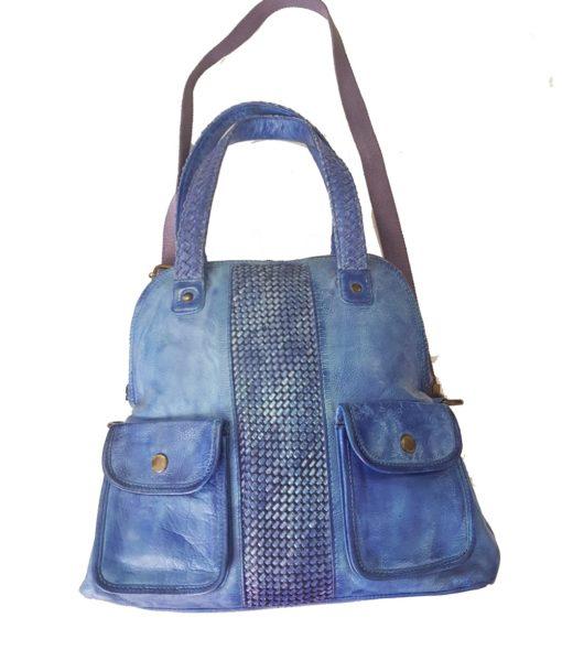 Дамска чанта естествена кожа