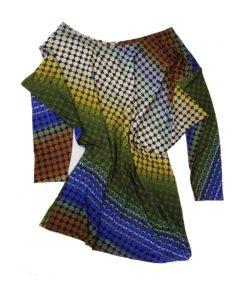 Многоцветна блуза