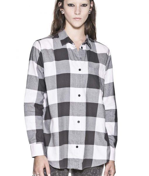 Карирана риза Cheap Monday