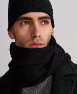 Вълнен шал и шапка комплект Reserved